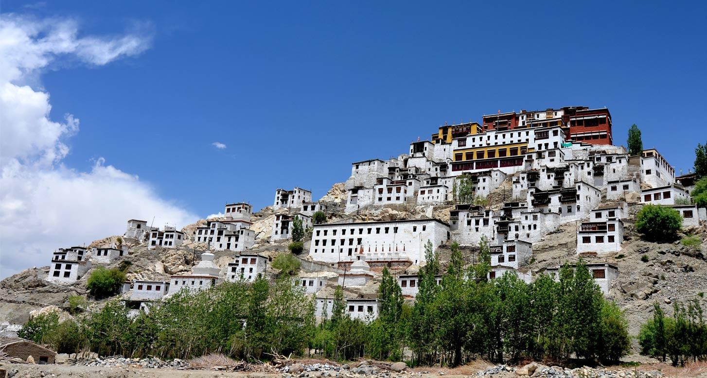 Thikse Monastery,Leh