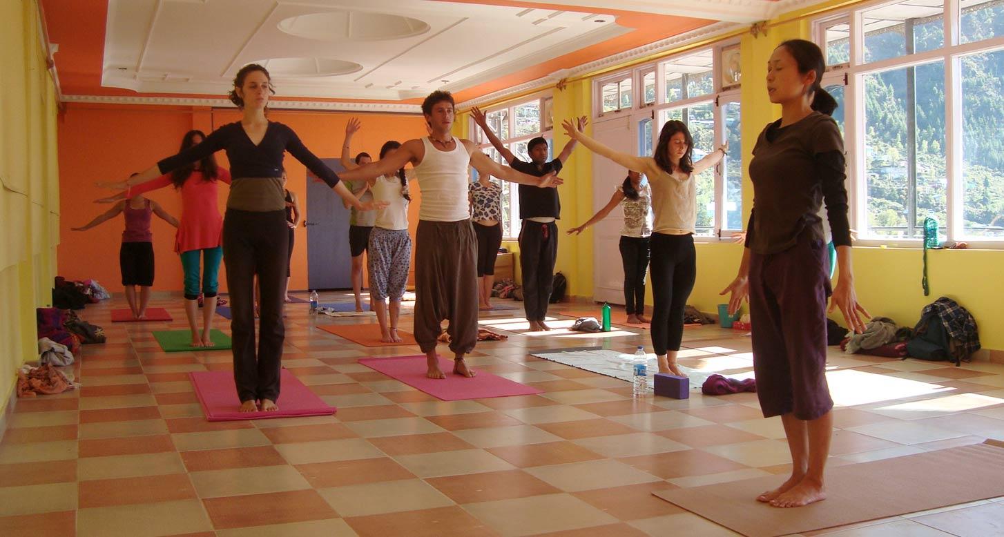 Yoga In Dharamkot